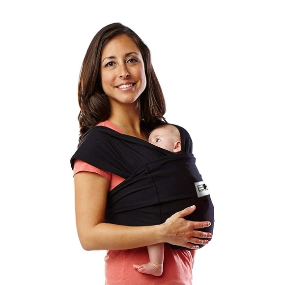 Baby K'Tan Other - Baby K'Tan Original • #1 Stretchy Babywrap • BLACK